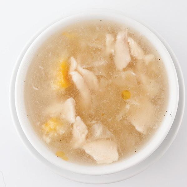 B-3 Saldžiarūgsčiai aštri kiniškų baltųjų grybų sriuba su vištiena