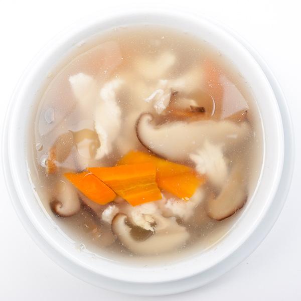 B-5 Vištienos sriuba su kiniškais grybais XIANGGU