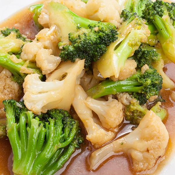 C-7 Brokoliai-kalafiorai moliuskų padaže