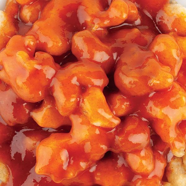 G-2 Traškios krevetės saldžiarūgščiame pomidorų padaže
