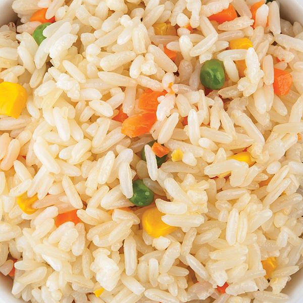 N-3 Kepti ryžiai su daržovėmis