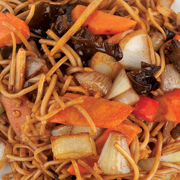 N-7 Kinietiški makaronai su daržovėmis